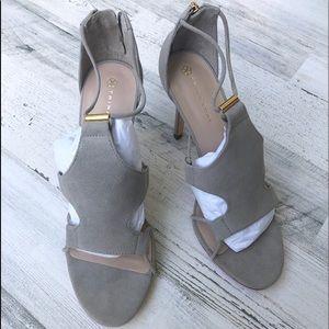NWOT Trina Turk Lucca Suede Dress Sandal/Heel/Pump